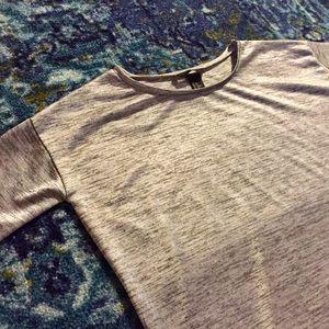 """""""H&M"""" Sleek Silver/Gray Top"""